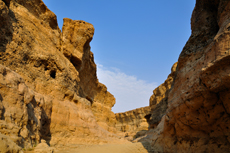 Sesriem Canyon, Namib Desert photo by Hansueli Krapf