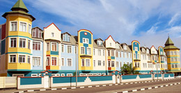 Colonial houses in Swakopmund