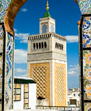Mosque tower, Tunis