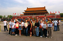 Friendly Planet group, Tiananmen Square