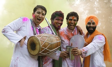 9 day festival tour of India with flights