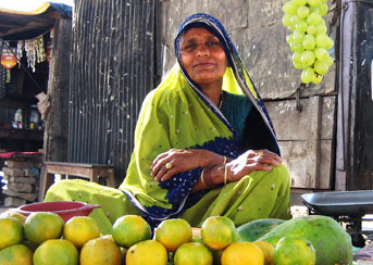 Chunar fruit seller