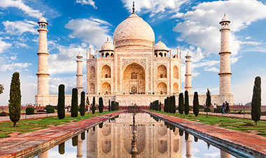 Escorted Tour of India with Int'l Flights