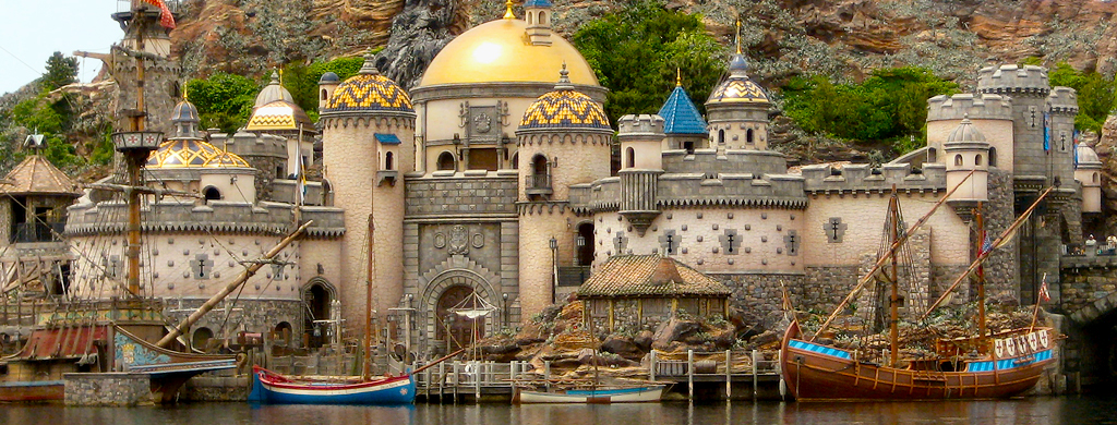 Spanish Fort, Mediterranean Harbor, DisneySea Photo by J. Miers