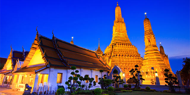 6Nt Dubai & Bangkok Flight & Hotel Vacation from $3,798 for 2