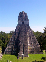 Tikal Temple  Photo by Nick Grunwald