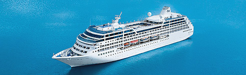 Tahitian Princess Cruise Ship
