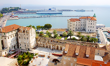 7-night Croatia Cruise, plus 2nts Split & Air