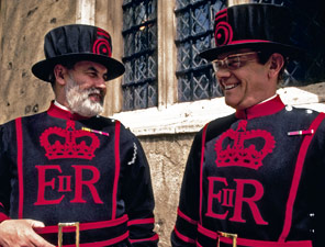 Beefeater guards