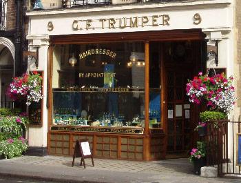 G. F. Trumper shop Photo by Ewan M