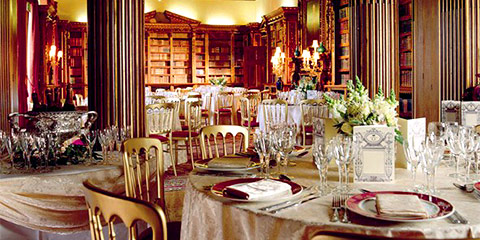 Highclere Castle Library © Highclere Castle Enterprises LLP