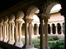 Aix En Provence – This is an image of cathedral cloisters  © Wikipedia Commons