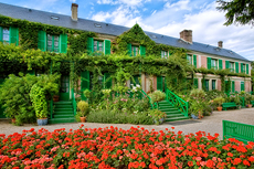 Claude Monet's house photo by Foundation Monet