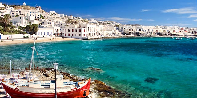 Athens & 3 Day Greek Isles Cruise from Los Angeles
