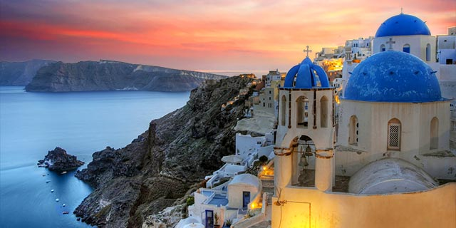 Athens & 4 Day Greek Isles Cruise from Los Angeles