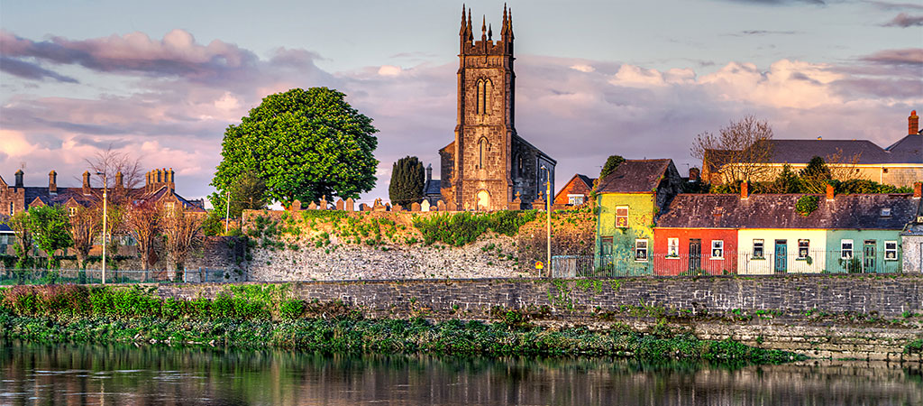 Limerick on the Shannon River