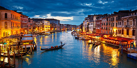 Venice and Florence Getaway by Rail package