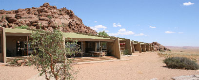 Namib Naukluft Lodge exterior