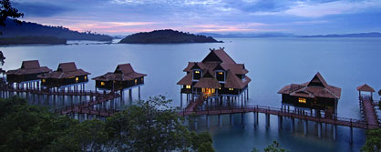 Berjaya Langkawi Beach & Spa Resort at dawn