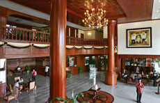 Lobby at the Borei Angkor