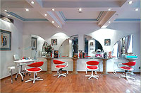 Hair and beauty salon