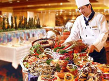 Buffet at Regal Hotel