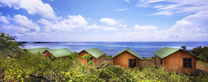 Floreana Lodge cabins
