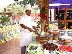 Chef of Hotel Las Dunas