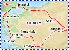 Best of Turkey tour itinerary
