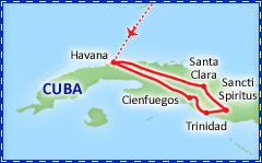 Colors of Cuba itinerary