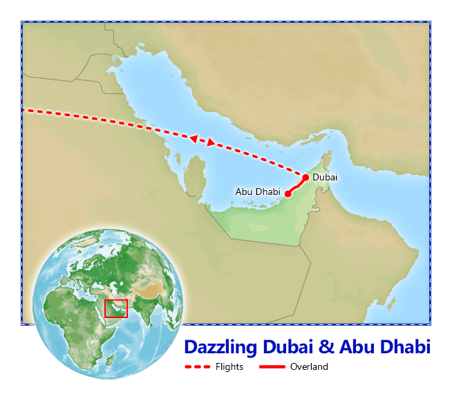 Vacation Packages to Dubai Dazzling Dubai and Abu Dhabi Friendly – Abu Dhabi Dubai Map