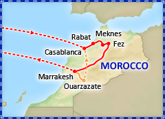 Discover Morocco tour itinerary
