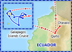 Ecuador & the Galapagos itinerary