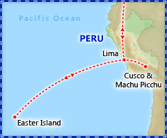 Exotic Easter Island & Machu Picchu tour itinerary