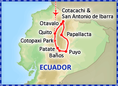 Exotic Ecuador tour itinerary