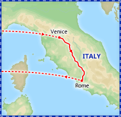 Florence and Rome Getaway by Rail itinerary