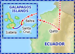 Galapagos Islands Adventure tour itinerary