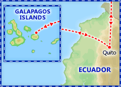 Galapagos Islands Express tour itinerary
