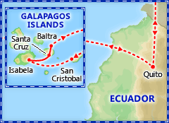 Galapagos Islands Wildlife Discovery tour itinerary