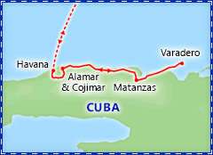 Highlights of Havana & Varadero tour itinerary for 2017 departures