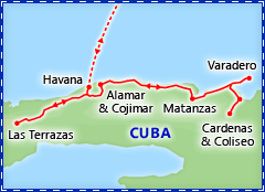 Highlights of Havana & Varadero tour itinerary