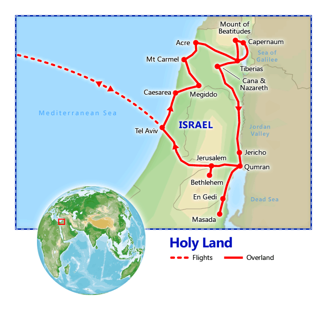 Image result for holyland tour