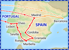 Best of Spain & Portugal tour itinerary