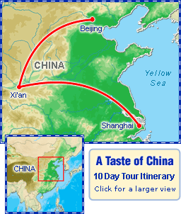 A Taste of China 10 Day Tour Itinerary