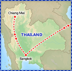 Romantic Rendezvous in Thailand itinerary