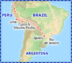 Sensational South America tour itinerary