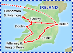 Splendid Ireland itinerary