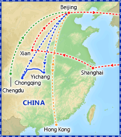 A Taste of China tour itinerary