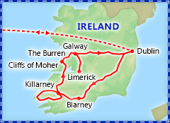 A Taste of Ireland tour itinerary