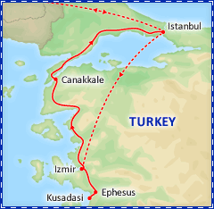 Taste of Turkey tour itinerary